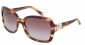 Tiffany & Co. TF4029 Sunglasses Sunglasses - 80803B Brown Vintage / Brown Gradient