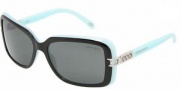Tiffany & Co. TF4025B Sunglasses Sunglasses - 80553F Top Black - Blue / Gray