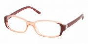 Bvlgari BV4042 Eyeglasses Eyeglasses - Top Cocoa on Transparent Brown
