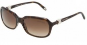 Tiffany & Co 4023 Sunglasses Sunglasses - 80153B Dark Havana / Brown Gradient