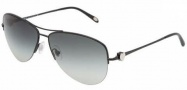 Tiffany & Co. TF3021 Sunglasses Sunglasses - 60073C Black / Gray Grdient