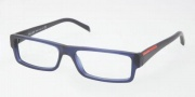 Prada PS 01AV Eyeglasses Eyeglasses - 1AV1O1 Matte Opal Gray