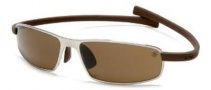 Tag Heuer Curves 5016 Sunglasses Sunglasses - 202 Pure Frame / Havana Temples / Brown Precision Lenses