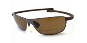 Tag Heuer Curves 5023 Sunglasses Sunglasses - 204 Chocolate Ceramic Frame / HavanaTemple / Brown Precision Lenses