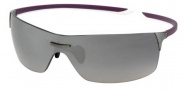 Tag Heuer Squadra 5502 Sunglasses Sunglasses - 111 Purple/White Temples/Dark/Grey Gradient