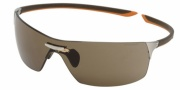 Tag Heuer Squadra 5502 Sunglasses Sunglasses - 205 Havana-Orange Temples / Pure Lug / Brown Lenses