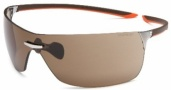 Tag Heuer Squadra 5503 Sunglasses  Sunglasses - 205 Havana-Orange Temples / Pure Lug / Brown Lenses