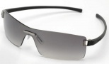 Tag Heuer Club 7506 Sunglasses Sunglasses - 107 Purple Temples / Brushed Ruthenium Frame Front / Gradient Grey lenses
