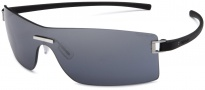 Tag Heuer Club 7507 Sunglasses Sunglasses - 101 Black Temples / Grey Shield