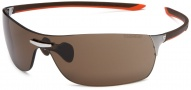 Tag Heuer Squadra 5505 Sunglasses Sunglasses - 205 Havana /Orange Temples/Pure/Brown
