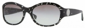 Vogue 2637SB Sunglasses - 156711 Striped Black / Gray Gradient