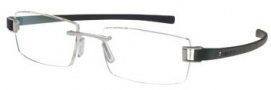 Tag Heuer Track 7102 Eyeglasses Eyeglasses - 001 Palladium Front / Black Temples