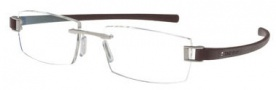Tag Heuer Track 7102 Eyeglasses Eyeglasses - 006 Palladium Front / Plum Temples