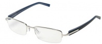 Tag Heuer Trends 8204 Eyeglasses Eyeglasses - 003 Polished Frame / Blue Temples