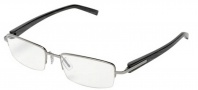 Tag Heuer Trends 8204 Eyeglasses Eyeglasses - 005 Ruthenium Front / Black Fiber Temples