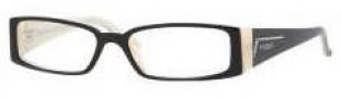 Vogue 2557B Eyeglasses Eyeglasses - 1345 Top Black /Sand