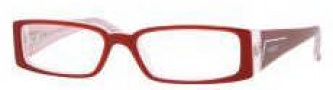 Vogue 2557B Eyeglasses Eyeglasses - 1556 Top Dark Orange-White