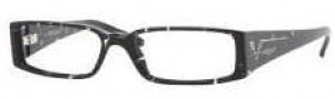 Vogue 2557B Eyeglasses Eyeglasses - 1567 Black Glitter