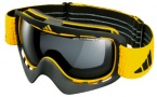Adidas ID2 A162 Goggles  Goggles - 6057 Shiny Moss / Orange Mirror