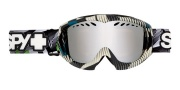 Spy Optic Targa Mini Goggles Goggles - Space Out Persimmon W/ Silver Mirror 