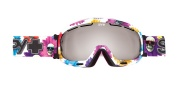 Spy Optic Bias Goggles - Mirror Lenses Goggles - Flower Power / Bronze with Silver + Pink