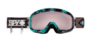 Spy Optic Bias Goggles - Mirror Lenses Goggles - Navajo / Pink with Silver Mirror