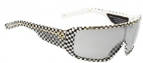 Spy Optic Tron Sunglasses Sunglasses - Checkers / Grey with Silver Gradient Mirror