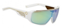 Spy Optic Tron Sunglasses Sunglasses - Matte Cobalt Frame / Grey with Multi Layered Turquoise Lens
