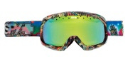 Spy Optic Trevor Goggles - Spectra lenses Goggles - Spy Skinner Yellow W/ Green Spectra