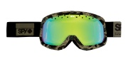 Spy Optic Trevor Goggles - Spectra lenses Goggles - Special OPS Yellow W/ Green Spectra