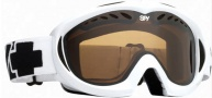 Spy Optic Targa 11 Goggles - Bronze Lenses Goggles - white / bronze lens