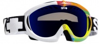 Spy Optic Targa 11 Goggles - Spectra Lens Goggles - Rad-Plaid / Bronze with Blue Spectra Mirror Lens