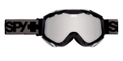 Spy Optic Zed Goggles - Mirror Lenses Goggles - Black / Bronze with Silver Mirror
