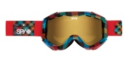 Spy Optic Zed Goggles - Mirror Lenses Goggles - Bright Idea / Bronze with Gold Mirror