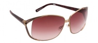 Spy Optic Kaori Sunglasses Sunglasses - Champagne with Purple Marble / Merlot Fade