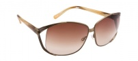 Spy Optic Kaori Sunglasses Sunglasses - Antique Brass with Caramel Marble / Bronze Fade