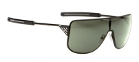Spy Optic Yoko Sunglasses Sunglasses - Matte Black Frame / Grey Green Lens