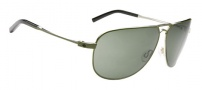 Spy Optic Wilshire Sunglasses Sunglasses - Matte Green / Grey Green
