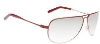 Spy Optic Wilshire Sunglasses Sunglasses - Red Chrome Fade Frame / Grey with Silver Mirror Lens