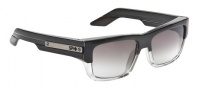 Spy Optic Tice Sunglasses Sunglasses - Black Smoke Crsytal / Grey