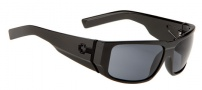 Spy Optic Hailwood Sunglasses Sunglasses - Matte Black Frame / Grey Lens