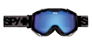 Spy Optic Zed Goggles - Spectra Lenses Goggles - Black / Blue with Blue Spectra