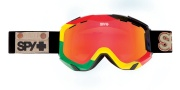 Spy Optic Zed Goggles - Spectra Lenses Goggles - Unite / Bronze with Red Spectra