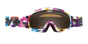 Spy Optic Bias Goggles - Persimmon Lenses Goggles - Flower Power / Persimmon
