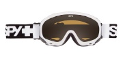 Spy Optic Soldier Goggles - Persimmon Lenses Goggles - White / Persimmon