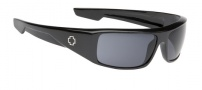 Spy Optic Logan Sunglasses Sunglasses - Shiny Black / Grey