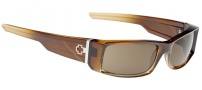 Spy Optic Hielo Sunglasses Sunglasses - Coconut Creme Fade / Bronze Polarized