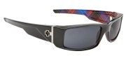 Spy Optic Hielo Sunglasses Sunglasses - Black with Hipster Plaid / Grey (Discontinued Color NLA)