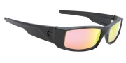 Spy Optic Hielo Sunglasses Sunglasses - Matte Black / Grey with Red Spectra Mirror