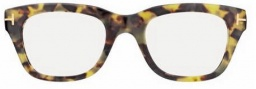 Tom Ford FT 5178 Eyeglasses Eyeglasses - O055 Coloured Havana